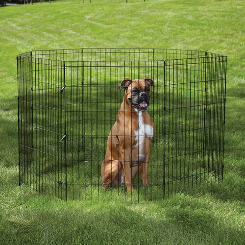 East Side Collection Easy Exercise Dog Pen