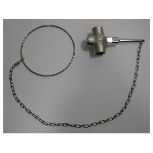 Speakman Self-Closing Valve with Chain and Ring