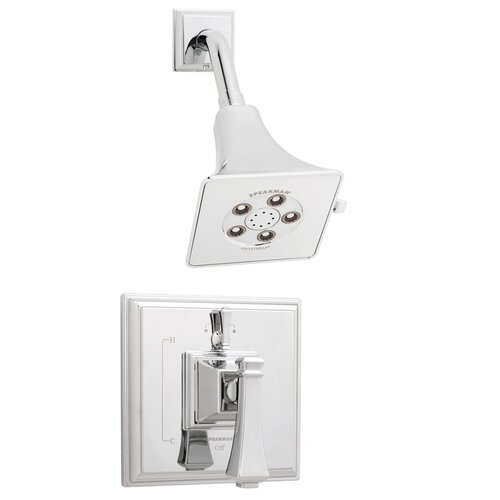 Speakman Rainier Polished Chrome Shower Combination with Diverter Valve