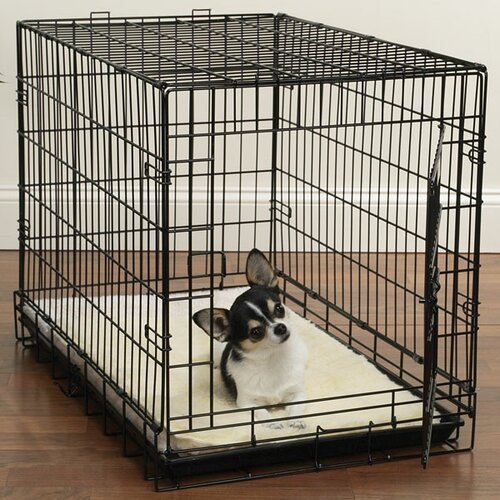 Double Sided Sherpa Crate Dog Mat