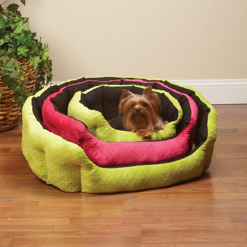 Dimple Plush Nesting Nest Dog Bed