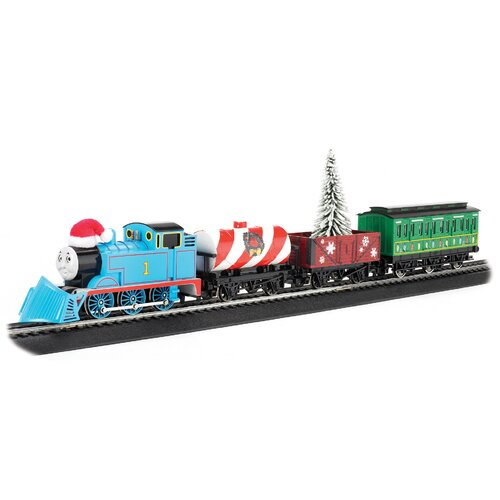 Bachmann Trains HO Scale Thomas Holiday Train Set
