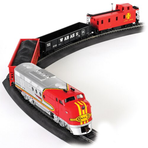 Bachmann Trains HO Scale Santa Fe Flyer Train