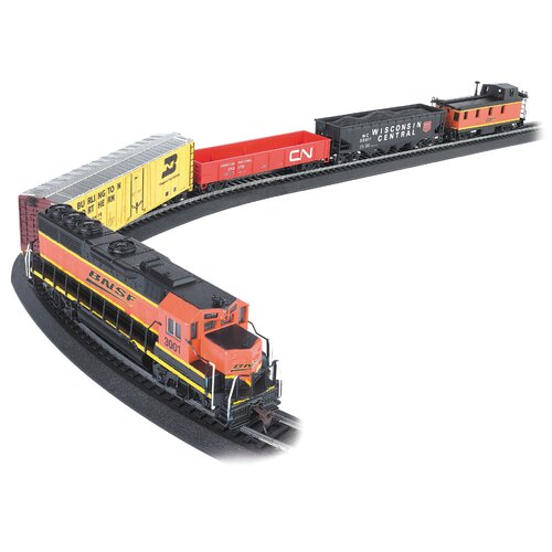 Bachmann Trains HO Scale Rail Chief Train Set