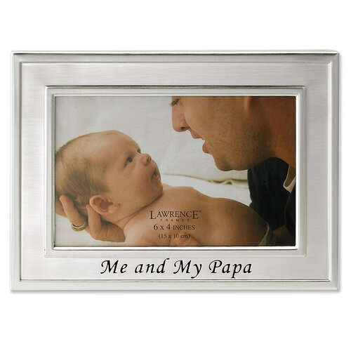 Sentiments Me and My Papa Picture Frame
