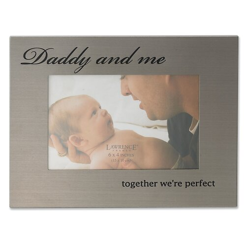 Lawrence Frames Daddy and Me Picture Frame