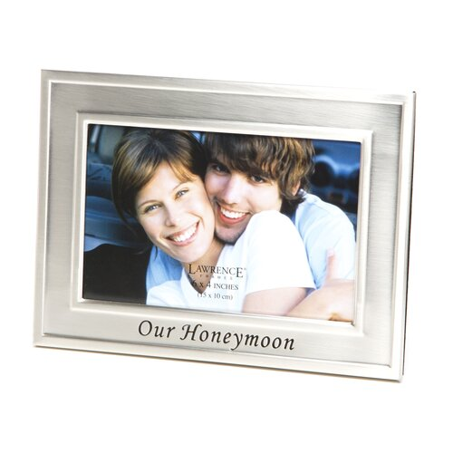 Sentiments Our Honeymoon Picture Frame