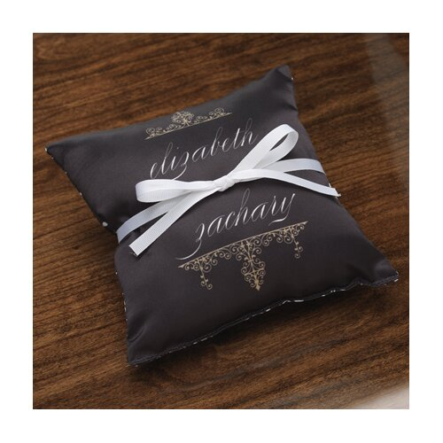 Personalized Alchemy Satin Ring Pillow