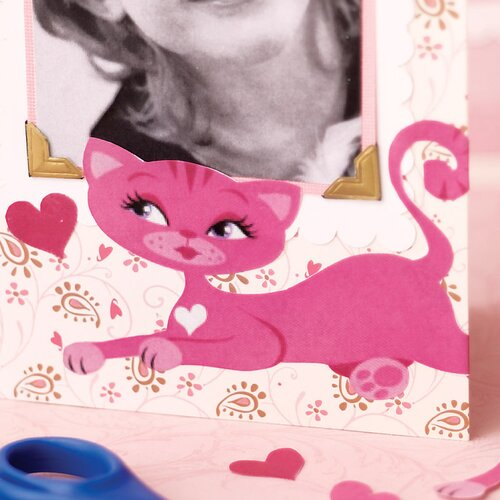 Wallies Kitty Cat Self-Adhesive Cutouts