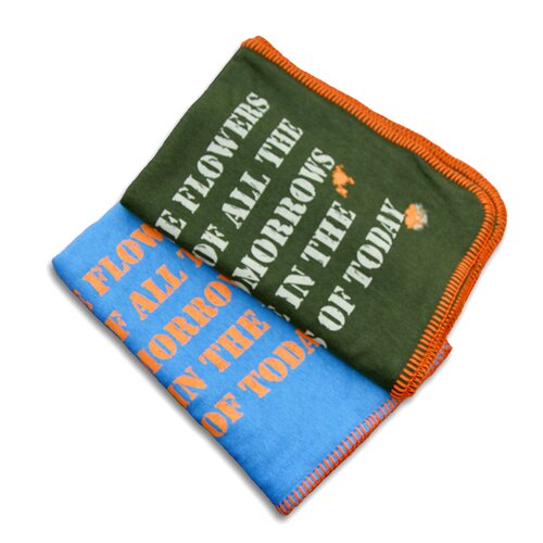 Tookee Organic Zen Stroller Blanket