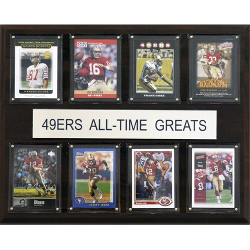 C & I Collectibles NFL All-Time Greats Plaque