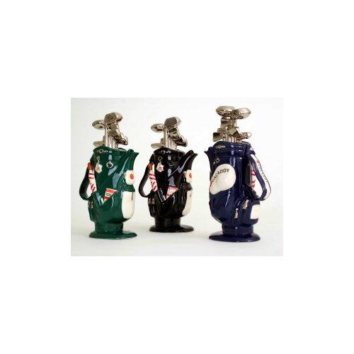 TeaPottery 1-qt. Golf Bag Teapot