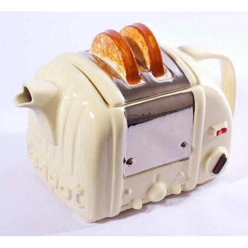 0.5-qt. Retro Toaster Teapot