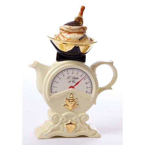 Mid Size 2 Cup Teapots Scale / Cream Teapot