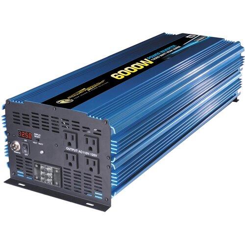 Power Bright 12V DC to 110V AC 6000W Power Inverter