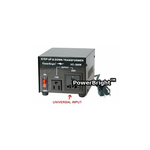 Power Bright 300W Step Up / Down Voltage Transformer