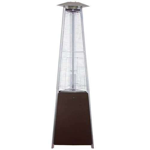 AZ Patio Heaters Commercial Glass Tube Propane Patio Heater
