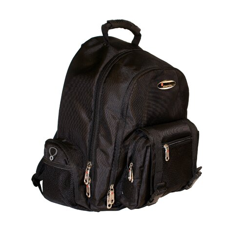 Built-In Alarm Collegiate Laptop Backpack