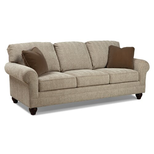 Spring Cushion Sofa Th on rustic living rooms hgtv