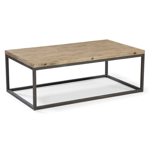 Industrial rustic coffee table wayfair for Wayfair industrial coffee table