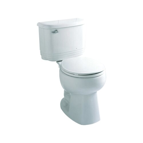 Riverton 1.6 GPF Round Front 2 Piece Toilet