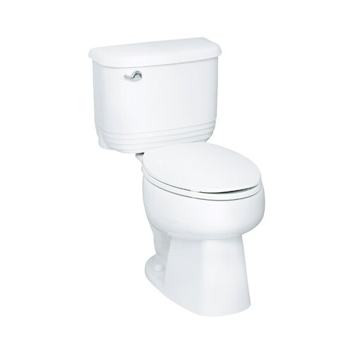 Sterling by Kohler Riverton 1.6 GPF Elongated 2 Piece Toilet