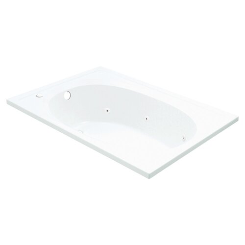 "Sterling by Kohler Tranquility 43"" x 42"" Reversible Whirlpool Tub"