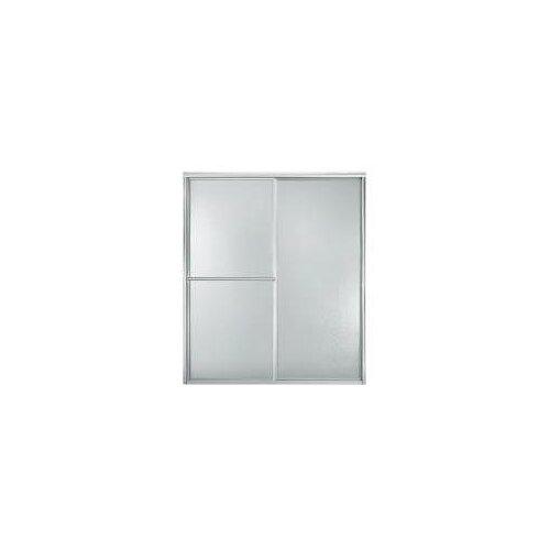 "Sterling by Kohler Deluxe 46.5"" - 59.38"" W x 70"" H Bypass Shower Door"