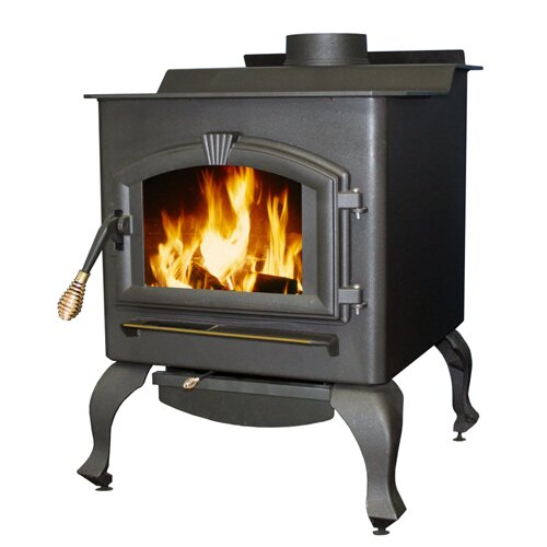 United States Stove Company EPA Certified 2000 Square Foot Wood Magnolia Heater with Blower
