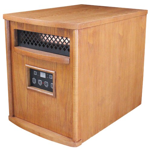 United States Stove Company HomComfort 1,500 Watt Infrared Cabinet Electric Space Heater