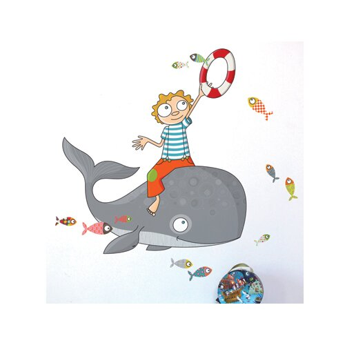 ADZif Ludo Flying Fish Wall Sticker