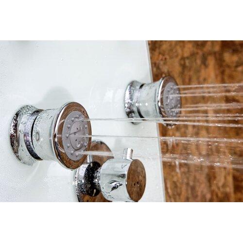 Pulse Showerspas Kailua ShowerSpa Diverter Shower Panel