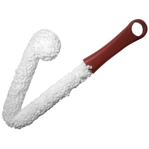 Wine Decanter Cleaning Brush in White and Red