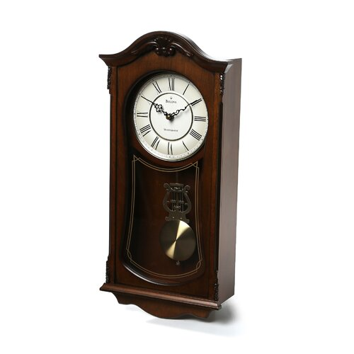 Bulova Cranbrook Wall Clock Reviews Wayfair
