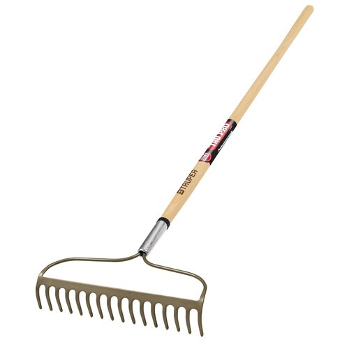 Truper Tools TruPro Bow Rake with Wood Handle