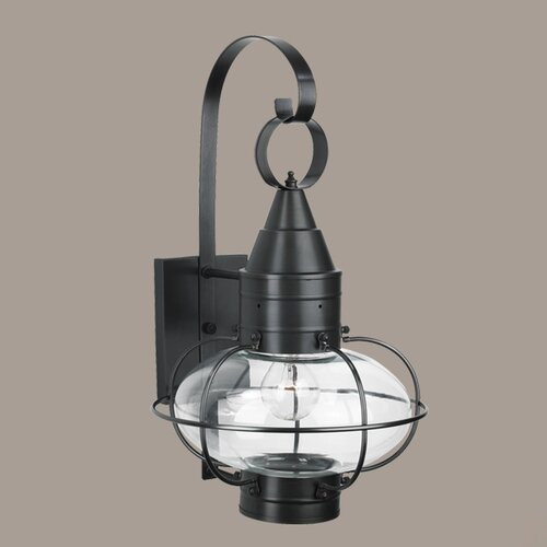 Norwell Lighting Classic Onion Medium 1 Light Outdoor Wall Lantern