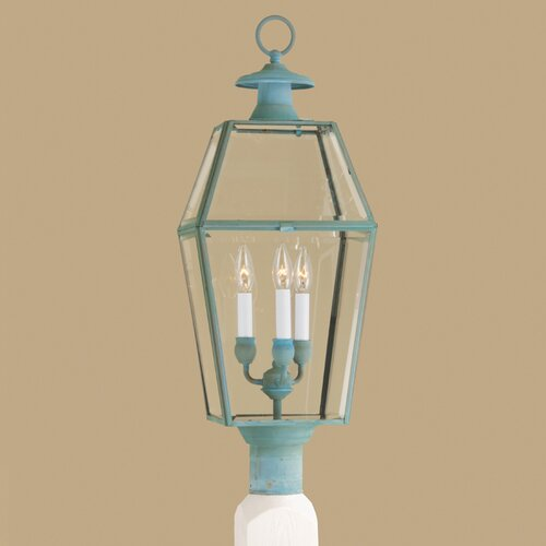 Norwell Lighting Olde Colony 3 Light Outdoor Post Lantern