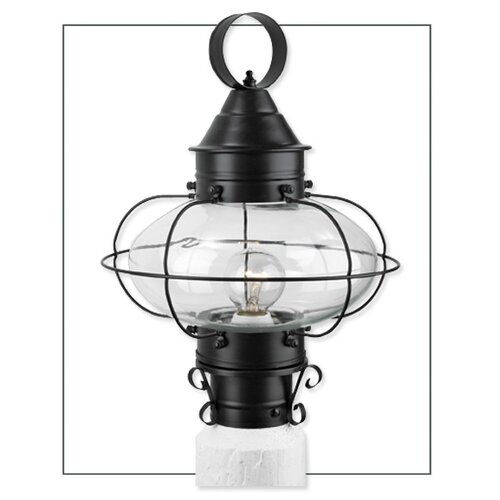 Norwell Lighting Cottage Onion 1 Light Outdoor Post Lantern