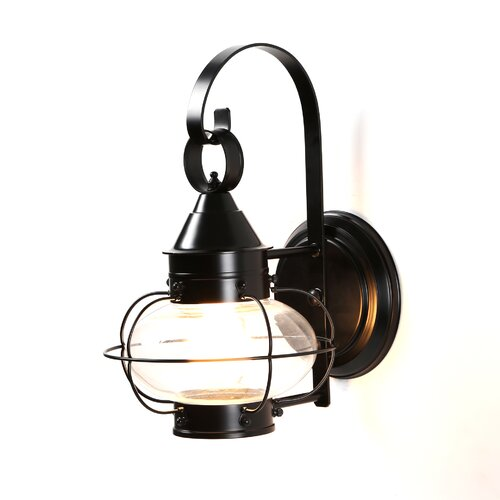 norwell lighting cottage onion small 1 light outdoor wall lantern. Black Bedroom Furniture Sets. Home Design Ideas