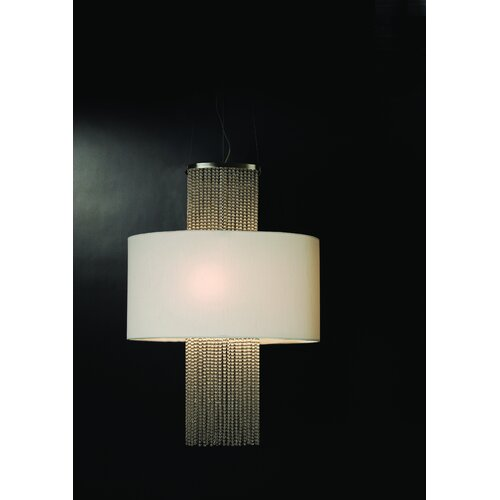 Trend Lighting Corp. Waltz 3 Light Oval Drum Foyer Pendant