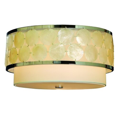 Trend Lighting Corp. Mirabelle 3 Light Flush Mount