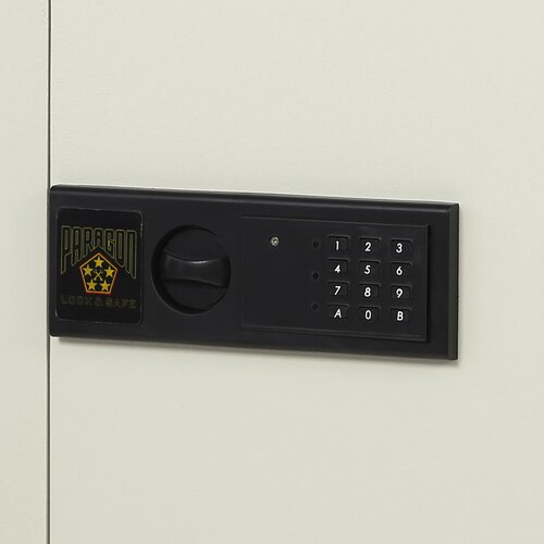 Paragon Safe Quarter Master Electronic Lock Commercial Home Office Security Wall Safe