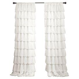 Estate Garden Rod Pocket Curtain Panel