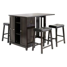5-Piece Aurora Pub Table Set