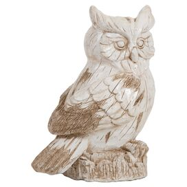 Perched Owl Indoor/Outdoor Statuette
