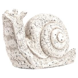 Rustic Snail Indoor/Outdoor Statuette