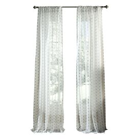 York Luxury Window Grommet Curtain Panel (Set of 2)