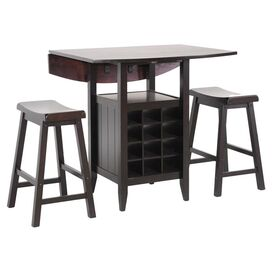3-Piece Rutherford Pub Table Set
