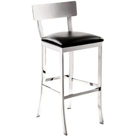 Maiden Barstool in Black