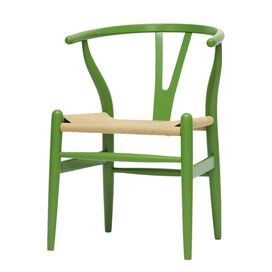 Wishbone Side Chair in Green